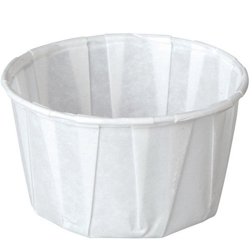 250 Paper Souffle Cups 1 oz Medicine Cups (250/Box) - Medicine Cups - Mountainside Medical Equipment