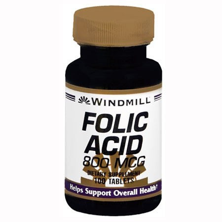 Windmill Folic Acid 800 mcg Tablets