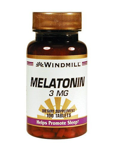 Windmill Melatonin Sleeping Aid Tablets