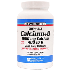 Buy Windmill Calcium Chewable Tablets 500mg by Windmill wholesale bulk | Vitamins, Minerals & Supplements