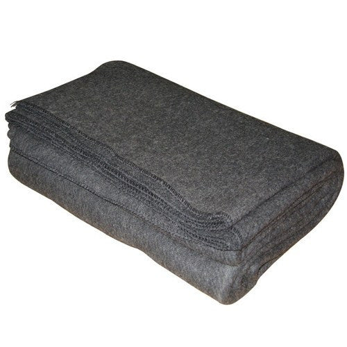 Kemp Wool Emergency Blanket with 80% Real Wool - First Aid Supplies - Mountainside Medical Equipment