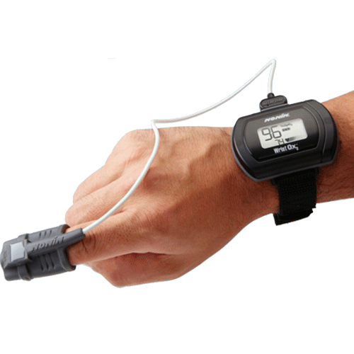 Buy WristOx2 Model 3150 Wrist-Watch Style Pulse Oximeter by Invacare from a SDVOSB | Pulse Oximeters