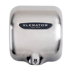 Buy Xlerator Brushed Stainless Steel Hand Dryer XL-SBV (220 / 240V) by n/a from a SDVOSB | Isolation Supplies
