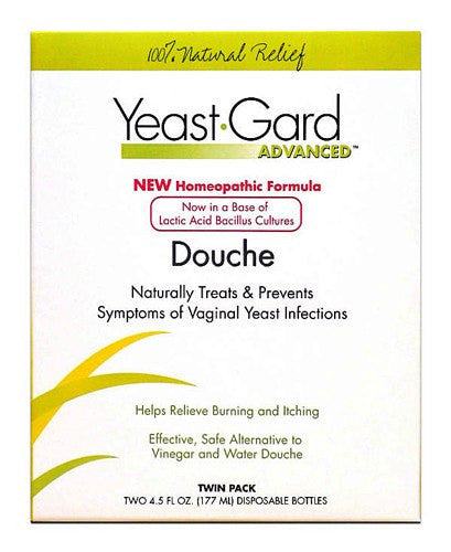 Buy Yeast-Gard Homeopathic Douche Twin Pack by Wisconsin Pharmacal Company | Yeast Infection