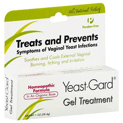 Buy Yeast-Gard Homeopathic Vaginal Gel Treatment 1 oz used for Yeast Infection by Wisconsin Pharmacal Company