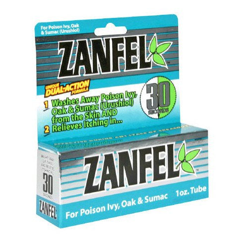 Zanfel Poison Ivy Skin Wash 1 oz