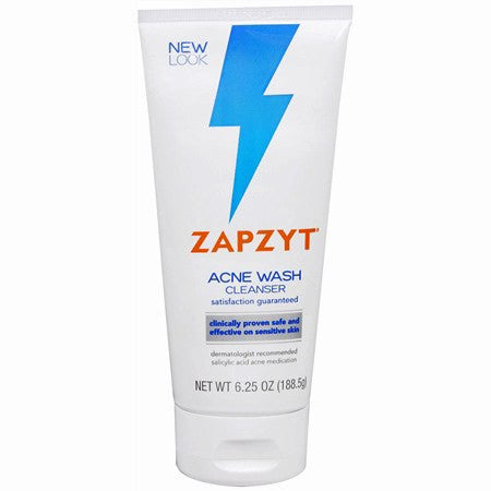 Zapzyt Salicylic Acid Acne Wash Cleanser