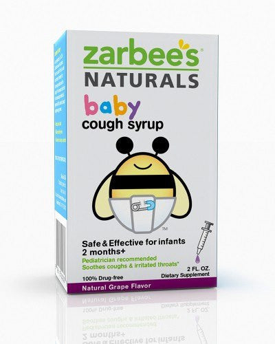 Buy Zarbees Baby Cough Syrup Grape Flavor online used to treat Baby Cough Syrup - Medical Conditions