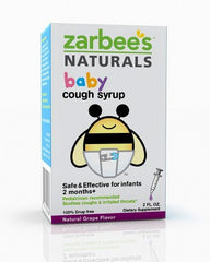 Buy Zarbees Baby Cough Syrup Grape Flavor by Rochester Drug | Home Medical Supplies Online