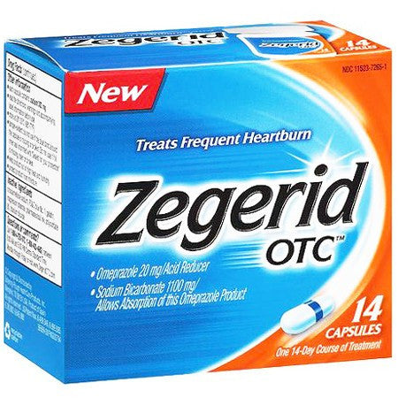 Zegerid OTC Heartburn Relief Capsules for Heartburn by Bayer Healthcare | Medical Supplies