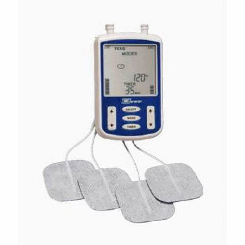 Buy Zewa Digital Tens Unit with 2 Channels & 4 Connection Pads online used to treat Tens Units, Stimulators - Medical Conditions