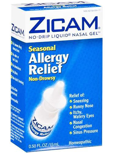 Buy Zicam Seasonal Allergy Relief Nasal Spray with Coupon Code from Insight Pharmaceuticals LLC Sale - Mountainside Medical Equipment