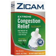 Buy Zicam Extreme Congestion Relief Nasal Gel by Emerson Healthcare | Nasal Decongestant