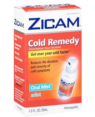 Buy Zicam Oral Mist Spray Mint Flavor 1 oz by Rochester Drug from a SDVOSB | Cold Medicine