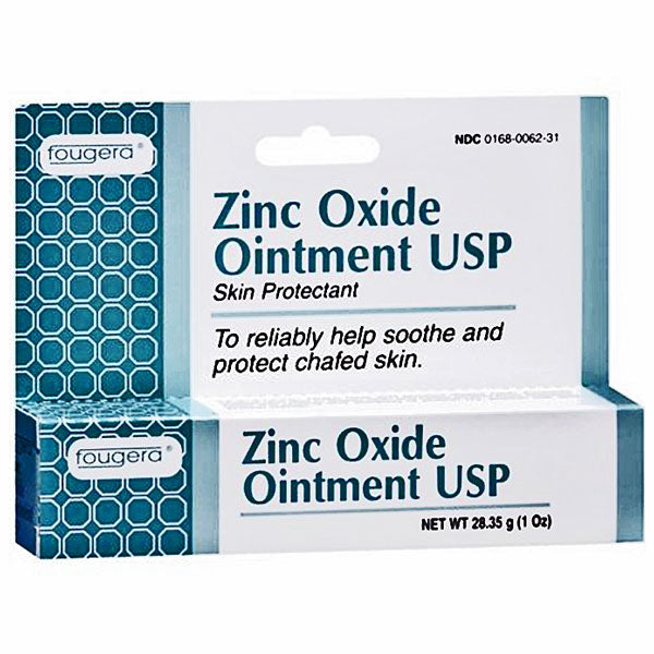 Buy Fougera Zinc Oxide Ointment 1oz online used to treat Diaper Rash Relief Cream - Medical Conditions
