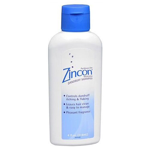 Zincon Medicated Dandruff Shampoo with Pyrithione Zinc - Dandruff Shampoo - Mountainside Medical Equipment
