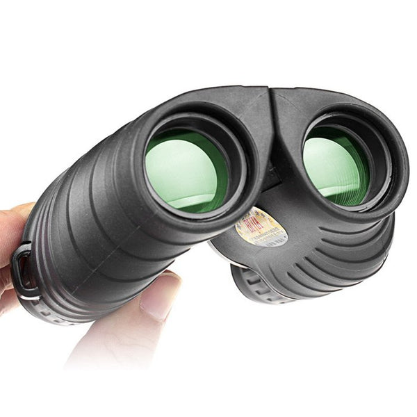BIJIA Porro BAK4 Prism Night Vision Telescope Binoculars for Hunting 10 x 25 HD 158m/1000m Ultra-clear Telescope Camping Travel