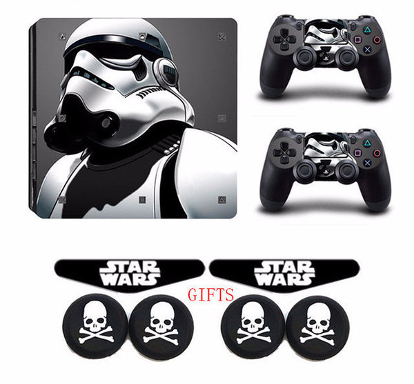 Darth Vader Star War PS4 Slim Vinyl Protective Sticker