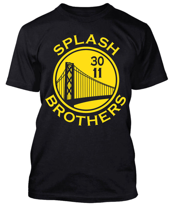 Splash Brothers Steph Curry Klay Thompson T-shirt