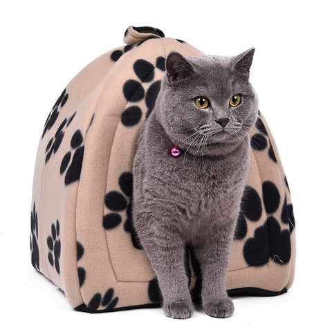Cat House Pet Bed