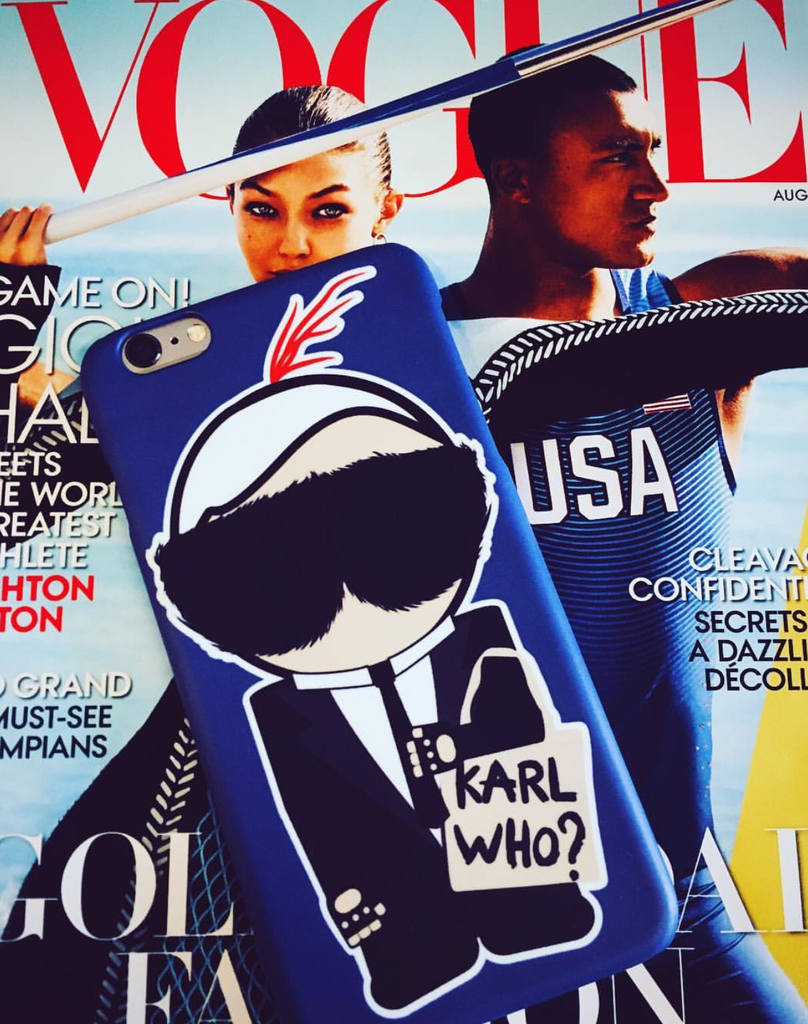 Karl Lagerfeld phone case