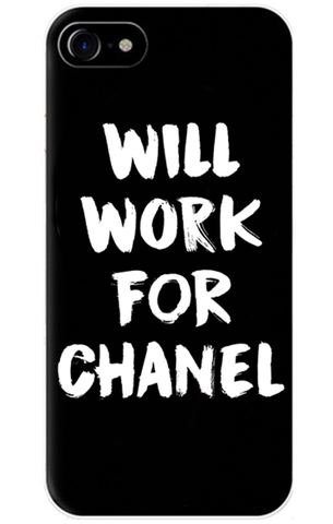 Will Work For Chanel iPhone Case