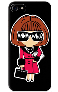 Anna Who iPhone Case
