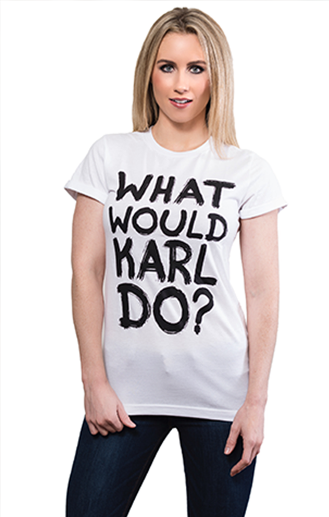 What Would Karl Do Graffiti Tee