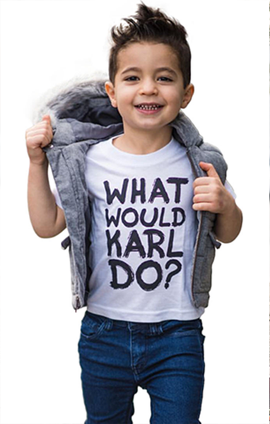 What Would Karl Do Baby/Toddler/Youth Tee (6M-Youth XL)