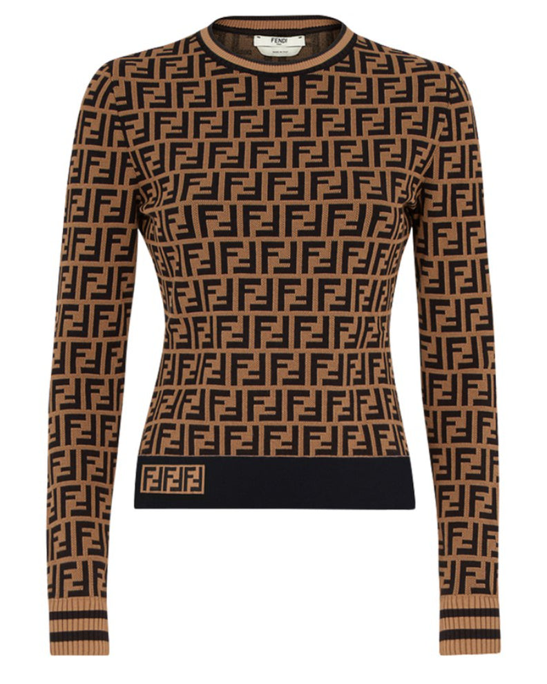 FF Brown Sweater - PRE ORDER