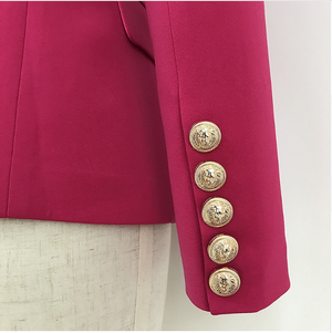 Pink Gold Button Blazer - LIMITED EDITION