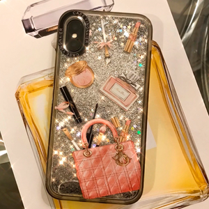 J'Adore Makeup Quicksand Glitter Phone Case - You Save 65%