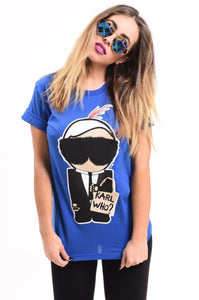 Karl Who Signature Tee
