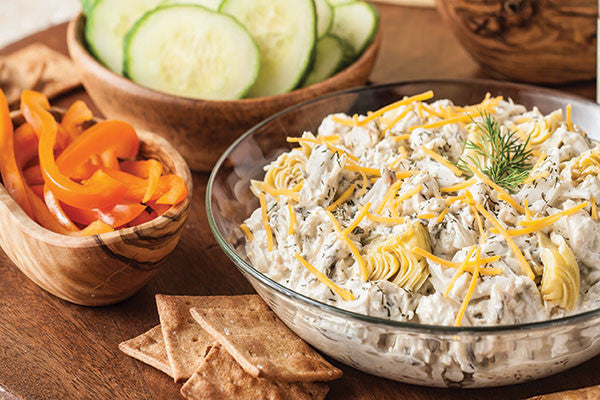 Artichoke and Spinach Crab Dip