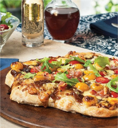 Balsamic Caramelized Onion Flatbread
