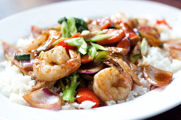Chicken Shrimp Stir-Fry