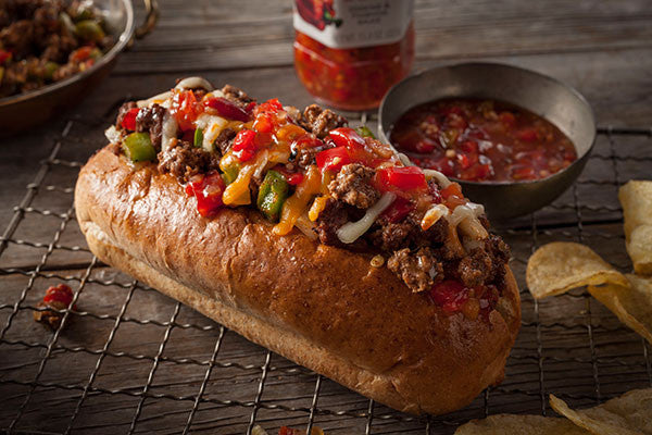 Chili Cheese Hoagies