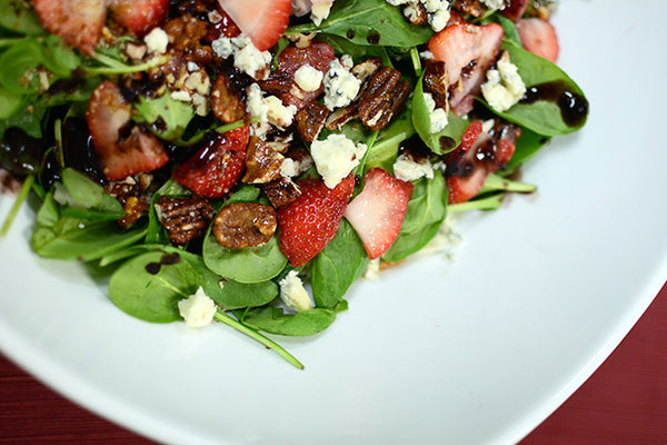 Double Blue Spinach Salad