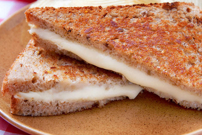Garlic & Fig Grilled Cheese