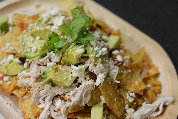 Hatch Jalapeño Chicken Chilaquiles