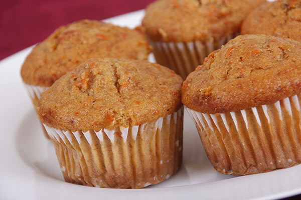 Hot Pepper Peach Muffins
