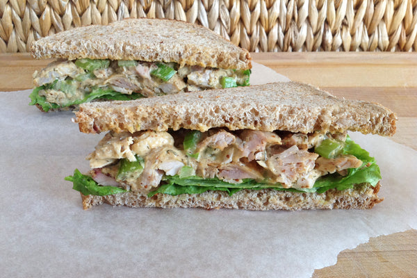 Lemon Dill Chicken Salad Sandwiches