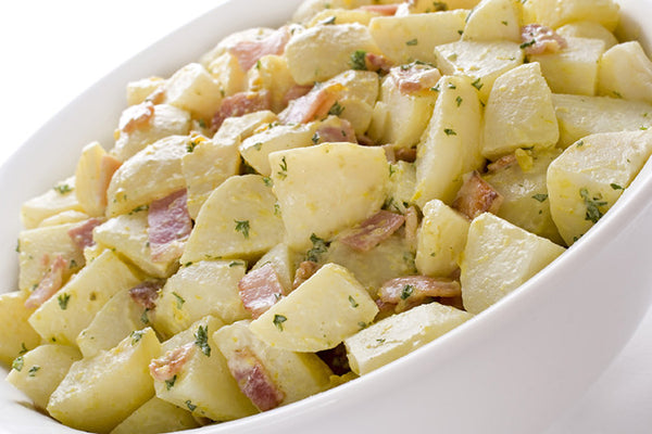 Raspberry Wasabi Potato Salad