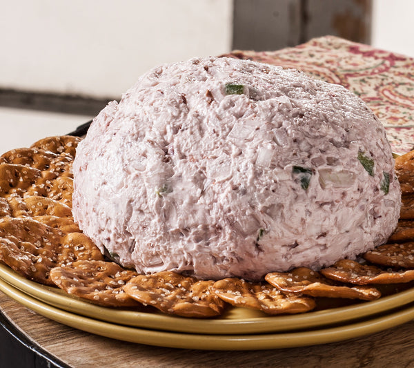 Raspberry Chipotle Cheese Ball