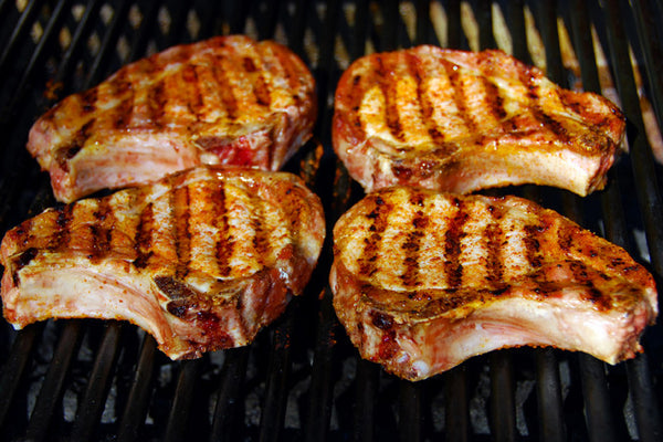 Raspberry Chipotle Pork Chops