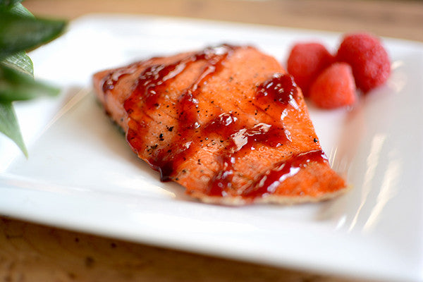 Raspberry Pineapple Salmon