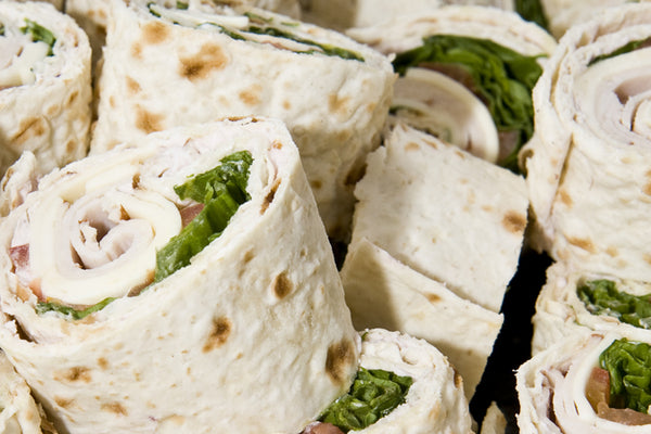 Red Pepper Turkey Wrap