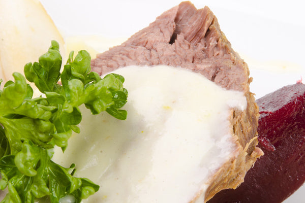 Roasted Beef Tenderloin with Horseradish Sauce