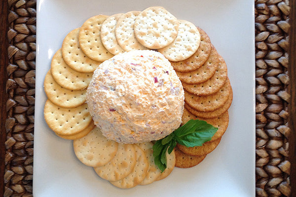 Roasted Pineapple & Habanero Cheese Ball