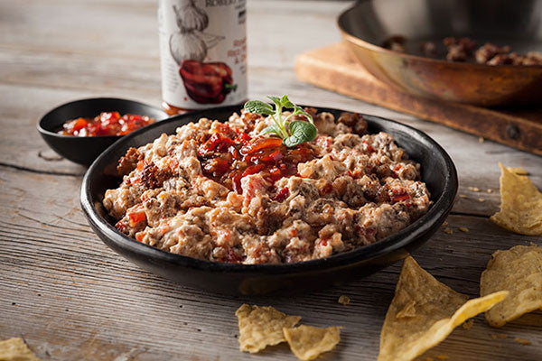 Roasted Red Pepper & Sausage Dip